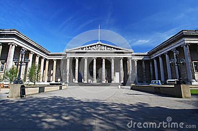 The British Museum in London Editorial Photography