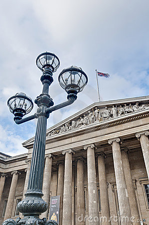 British Museum at London, England