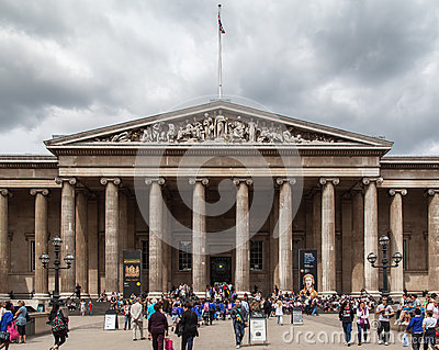 British Museum London England Editorial Photography
