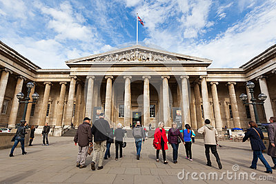 The British Museum in London Editorial Image