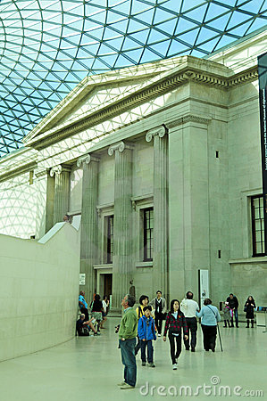 British Museum, London, United Kingdom Editorial Image