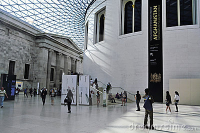British Museum, London, United Kingdom Editorial Stock Image