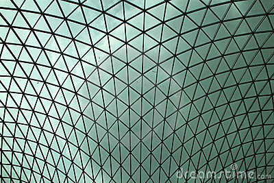 British Museum roof Editorial Photography