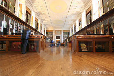 British Museum Room Editorial Stock Photo