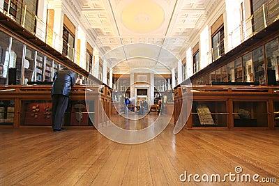 British Museum Room Editorial Stock Photo