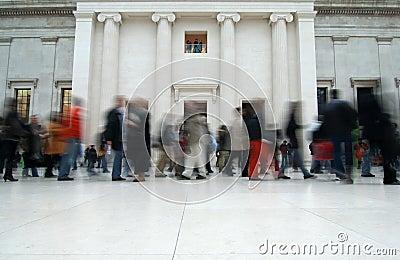 British Museum Visitors Editorial Photography