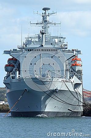 A British Navy ship.