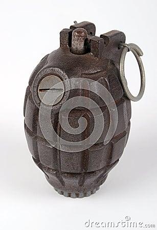 British No36 hand grenade
