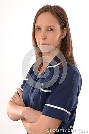A British Nurse