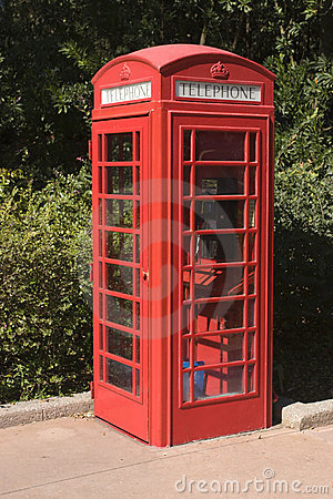 British Phone Booth