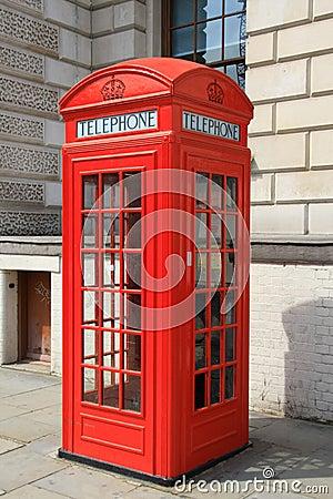 Free British Phone Box Stock Photo - 5566770