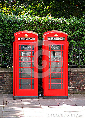 British phonebooth