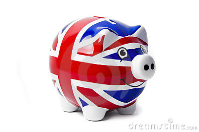 British Piggy Bank