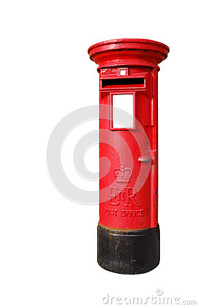 British postbox Editorial Photography