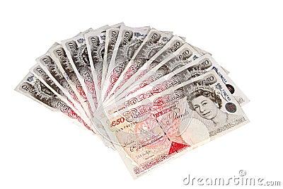 British pounds. Editorial Photo