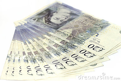 British pounds Editorial Stock Photo