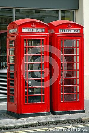 Free British Public Phone Royalty Free Stock Image - 22655106