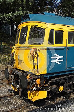 British Rail Class 33 Locomotive, 33103 Editorial Stock Image