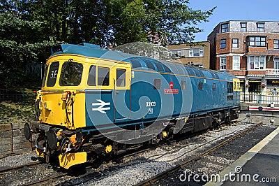 British Rail Locomotive 33103 Editorial Stock Image