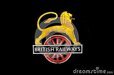 British Railways Logo Editorial Photography