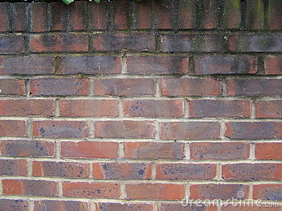 British red brick wall