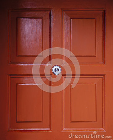 British Red Door
