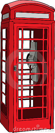 Free British Red Phone Booth Royalty Free Stock Photo - 11248595