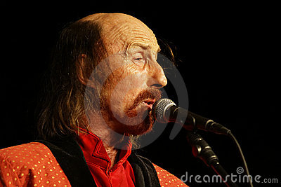 British rock singer - Arthur Brown Editorial Photography