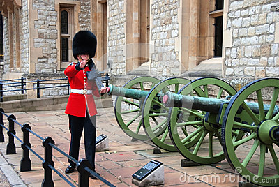 A British Royal Guard Editorial Stock Image