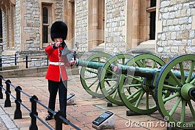 A British Royal Guard Editorial Stock Image
