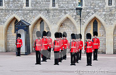 British royal guards Editorial Stock Photo