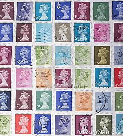 British Stamps
