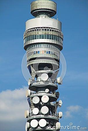British Telecom возвышается