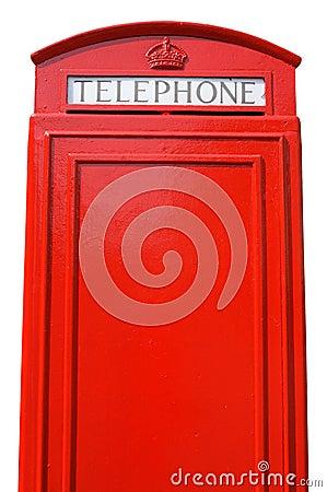 British telephone box.