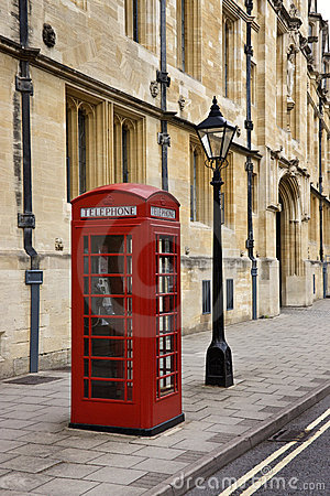 British Telephone Box - Great Britain