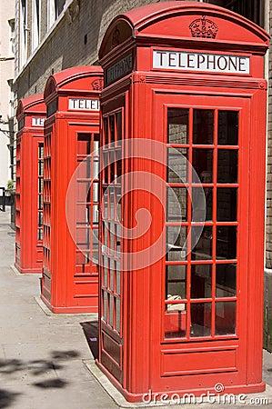 British Telephone Boxes