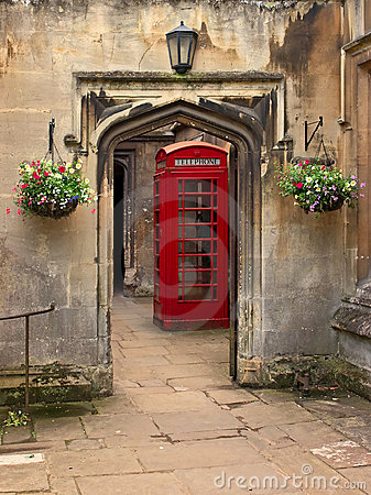 British telephone red box