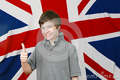 British thumbs up
