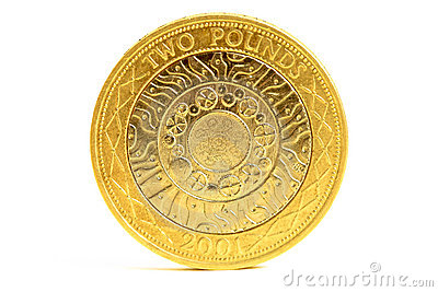 British Two Pound Coin