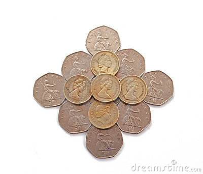 British, UK, coins