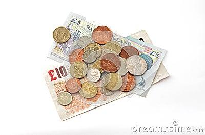 British (uk) currency.
