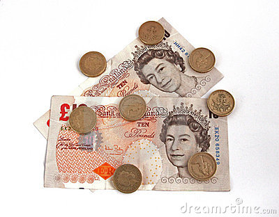 British (uk) currency Editorial Image