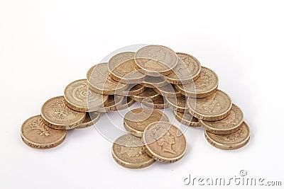 British, UK, pound coins