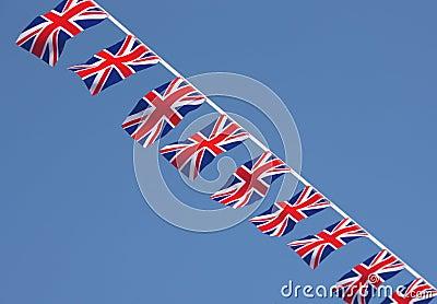 British Union Jack Bunting Flags