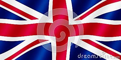 British Union Jack flag.