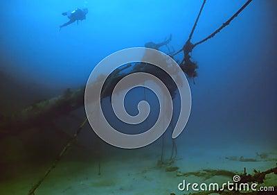British Virgin Islands shipwreck