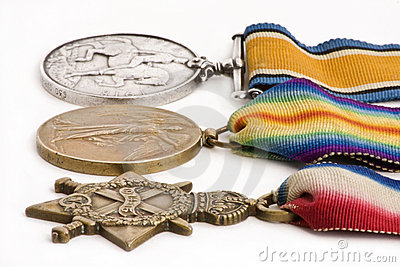 British war medals