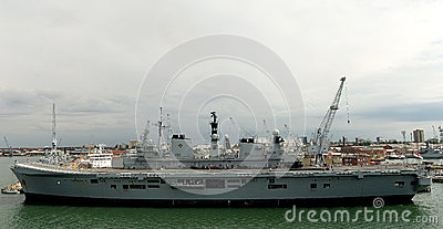 British Warships Editorial Stock Image