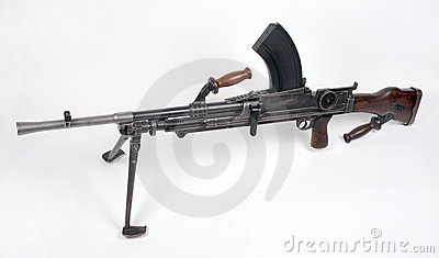 British WW11 Bren Gun