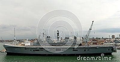 Britse Oorlogsschepen Redactionele Stock Afbeelding